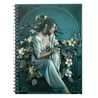 Art Nouveau Night Notebook