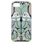 Art Nouveau Owls Nest Pattern iPhone 5 Case