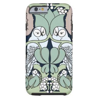Art Nouveau Owls Nest Pattern iPhone 6 case