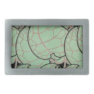 Art Nouveau pattern #10 Belt Buckle