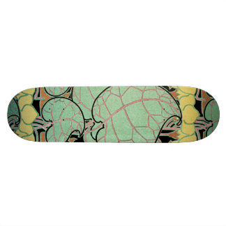 Art Nouveau pattern #10 Skateboard