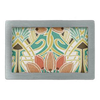 Art Nouveau pattern #11 Belt Buckle