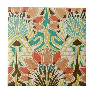 Art Nouveau pattern #11 Tile
