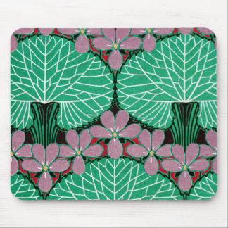 Art Nouveau Pattern #12 at Emporio Moffa Mouse Pad