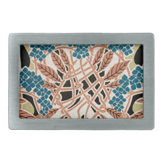 Art Nouveau pattern #12 Rectangular Belt Buckle