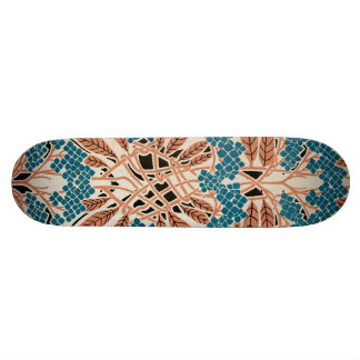 Art Nouveau pattern #12 Skateboard Deck