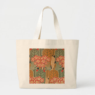Art Nouveau Pattern #1 at Emporio Moffa Large Tote Bag