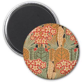 Art Nouveau Pattern #1 at Emporio Moffa Refrigerator Magnet