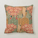 Art Nouveau Pattern #1 at Emporio Moffa Throw Pillow