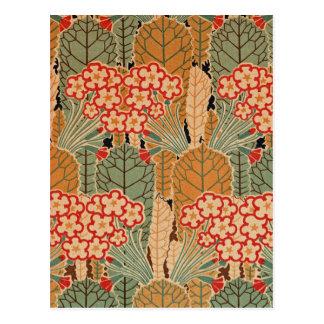 Art Nouveau Pattern #1 at Emporio Moffa Postcard