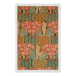 Art Nouveau Pattern #1 at Emporio Moffa Posters