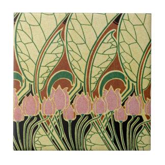 Art Nouveau pattern #1 Ceramic Tile