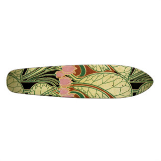 Art Nouveau pattern #1 Skateboard
