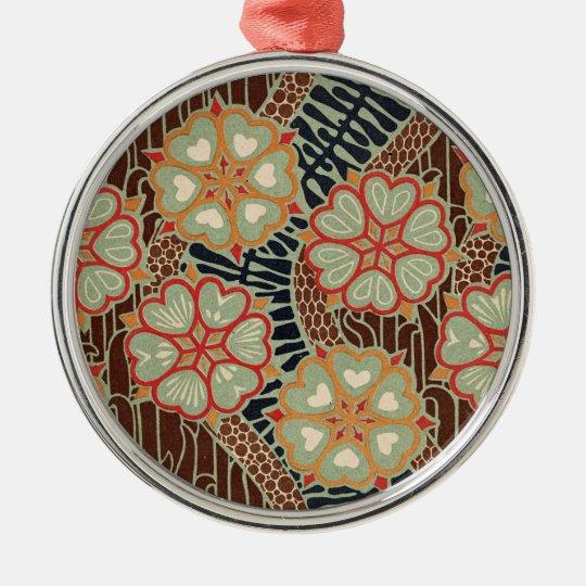 Art Nouveau Pattern #2 at Emporio Moffa Metal Ornament