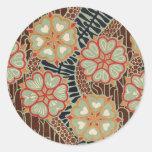 Art Nouveau Pattern #2 at Emporio Moffa Sticker
