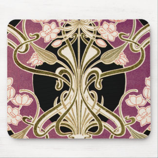 Art Nouveau pattern #2 Mouse Pad