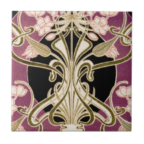 Art Nouveau pattern #2 Tile