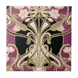 Art Nouveau pattern #2 Tile
