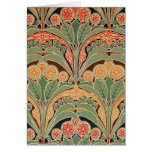 Art Nouveau Pattern #3 at Emporio Moffa Greeting Cards