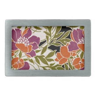 Art Nouveau pattern #3 Belt Buckle
