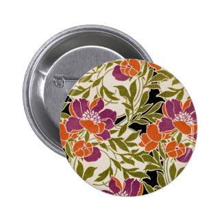 Art Nouveau pattern #3 Pinback Button