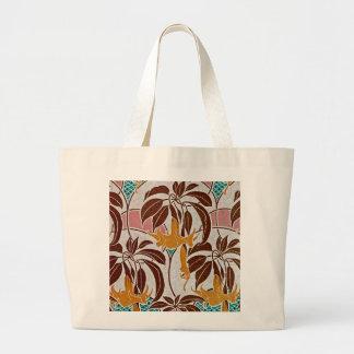 Art Nouveau Pattern #4 at Emporio Moffa Large Tote Bag
