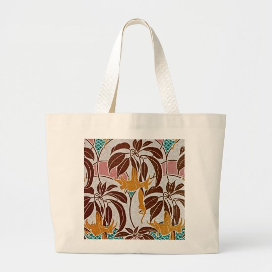 Art Nouveau Pattern #4 at Emporio Moffa Large Tote Bag