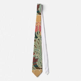 Art Nouveau Pattern #4 at Emporio Moffa Tie