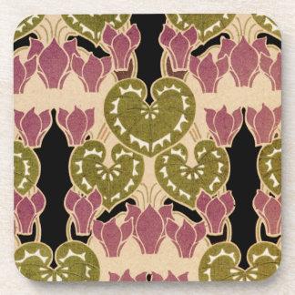Art Nouveau pattern #4 Beverage Coaster