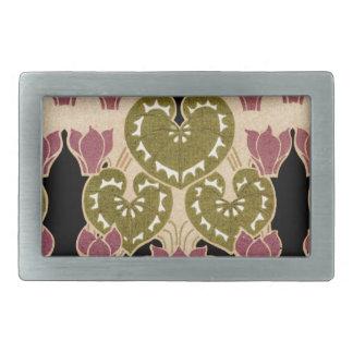 Art Nouveau pattern #4 Rectangular Belt Buckle