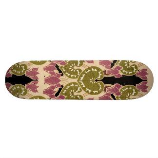 Art Nouveau pattern #4 Skateboard Deck