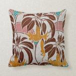 Art Nouveau Pattern #5 at Emporio Moffa Pillows