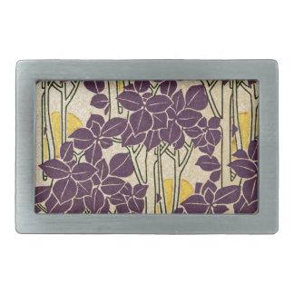 Art Nouveau pattern #5 Belt Buckle