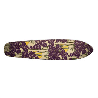 Art Nouveau pattern #5 Skateboard Deck