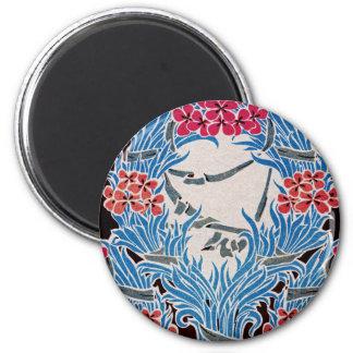 Art Nouveau pattern #6 2 Inch Round Magnet