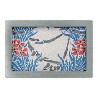 Art Nouveau pattern #6 Belt Buckle