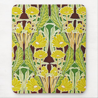 Art Nouveau Pattern #7 at Emporio Moffa Mouse Pad
