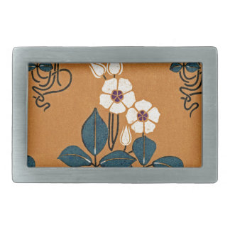Art Nouveau pattern #7 Belt Buckle