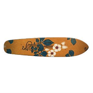 Art Nouveau pattern #7 Skateboard Deck