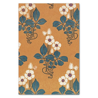 Art Nouveau pattern #7 Tissue Paper