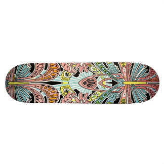 Art Nouveau pattern #8 Skateboard