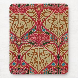Art Nouveau Pattern #9 at Emporio Moffa Mouse Pad