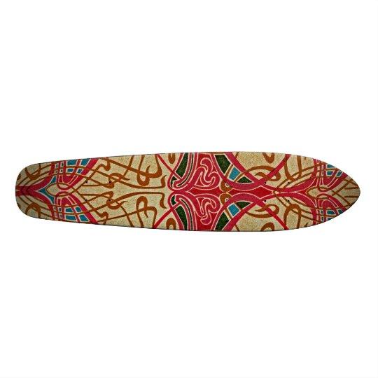 Art Nouveau Pattern #9 at Emporio Moffa Skateboard Deck