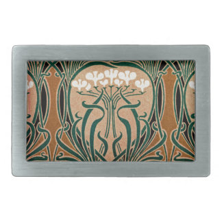 Art Nouveau pattern #9 Belt Buckle