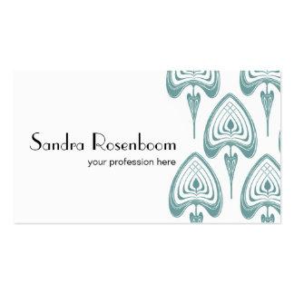 Art Nouveau pattern Business Card