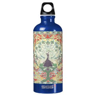 Art Nouveau Peacock SIGG Traveler 0.6L Water Bottle