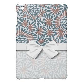 art nouveau pine cones nature pern iPad mini cover