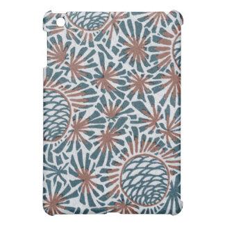 art nouveau pine cones nature pern cover for the iPad mini