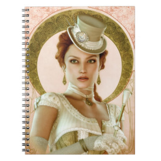 Art Nouveau Pink Notebook