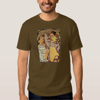 Art Nouveau Postcard: Art & Decoration T-Shirt